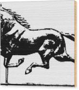 Weathervane, 19th Century Wood Print