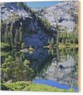 Welcome To Eagle Lake Wood Print