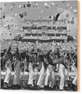 West Point Graduation Wood Print