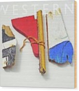 Western Wood Print