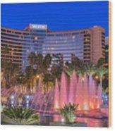 Westin Hotel Long Beach Wood Print