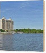 Westin Hotel On The Savannah Waterfront Wood Print