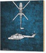 Westland Lynx Wood Print
