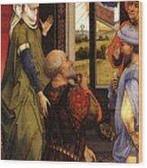 Weyden Bladelin Triptych    Wood Print