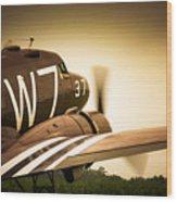 Whiskey Seven Wood Print
