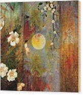 Whisper Forest Moon II Wood Print
