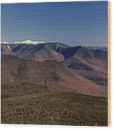 White Mountains Nh Usa Wood Print