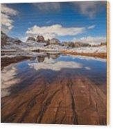 White Pocket Northern Arizona Wood Print