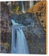 White River Falls State Park Wood Print