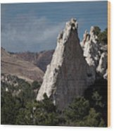 White Rock, Garden Of The Gods Wood Print