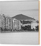 White Tower Of Thessaloniki Wood Print