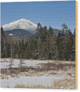 Whiteface Mountain In The Adirondacks Of Upstate New York Wood Print