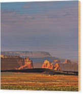 Wide-open Spaces - Page Arizona Wood Print