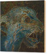 Wildcat Wood Print