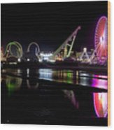 Wildwood New Jersey Wood Print