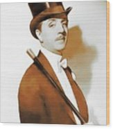 William Powell, Hollywood Legend Wood Print