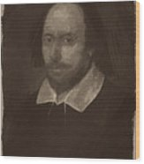 William Shakespeare Wood Print