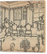 William Tell And Leopold I Wood Print