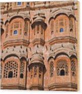 Wind Palace - Jaipur Wood Print
