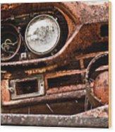 Winkin Ford Wood Print
