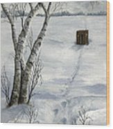 Winter Splendor Wood Print