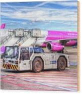 Wizz Air Airbus A321 Wood Print