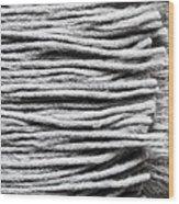 Wool Scarf Wood Print