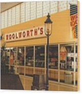 Woolworth's Store At River Roads Mall  Wood Print