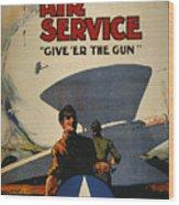 World War I: Air Service Wood Print by Granger