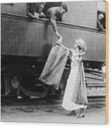 World War I: Red Cross Wood Print