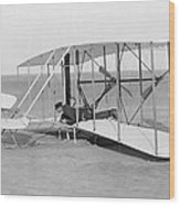 Wright Brothers Glider Wood Print