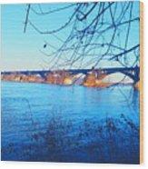 Wrightsville Bridge Wood Print