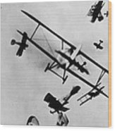 Wwi: Dogfight Wood Print