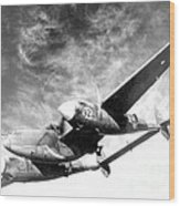 Wwii, Lockheed P-38 Lightning, 1940s Wood Print
