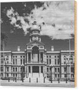 Wyoming State Capitol - Cheyenne Wood Print