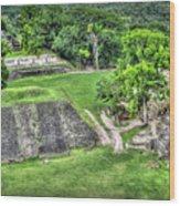 Xunantunich, Ancient Maya, Archaeological Site Wood Print