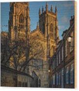 York Minster  Wood Print