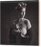 Young Woman Nude 1729.555 Wood Print