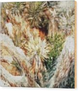 Yucca Cool Patch  Wood Print