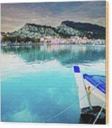Zaante Town, Zakinthos Greece Wood Print