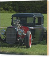1930 Ford Coupe Hot Rod Wood Print