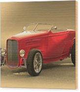 1932 Ford Hiboy Roadster Wood Print