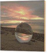 10-27-16--1918 Don't Drop The Crystal Ball, Crystal Ball Photography Wood Print