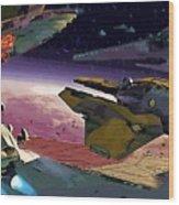 A Star Wars Poster Wood Print