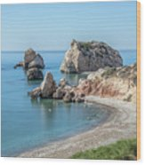 Aphrodite's Rock - Cyprus Wood Print