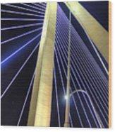 Arthur Ravenel Jr. Bridge  Wood Print