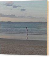 Australia - Calm Seas At Greenmount Beach Wood Print
