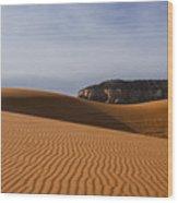Coral Pink Sand Dunes Wood Print