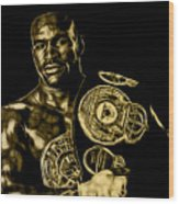 Evander Holyfield Collection Wood Print