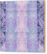 Floral Abstract Design-special Silk Fabric Wood Print